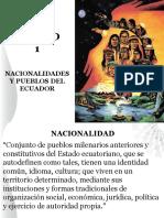 Nacionalidades y Pueblos.. Curso Intercultural y Salud