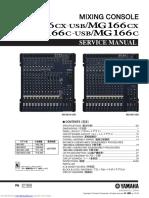 Yamaha Mg_166cxusb Service Manual