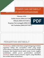 97006_metabolit Primer Dan Metabolit Sekunder Mikroorganisme
