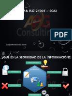 Norma ISO 27001 - SGSI