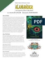 Malamander Teachers' Guide
