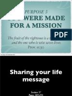 Rick Warren, Purpose Driven Life:Section 37