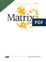 Matrix Implementation