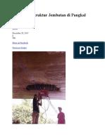 Perkuatan Struktur Jembatan Di Pangkal Pinang