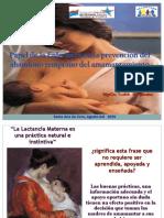 Papel de la Enfermera en la prevención del abandono temprano del amamantamiento.ppt