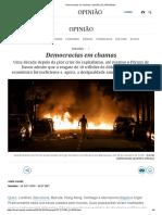 Democracias Em Chamas _ Opinião _ EL PAÍS Brasil