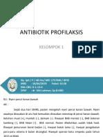 Antibiotik Profilaksis Kel. 1