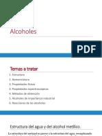 Alcoholes Clase I-2019 PRIMERA PARTE