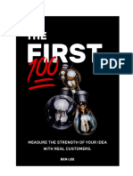 The First 100 Course - Google Docs