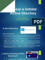 Laboratorio 3 Planear e Instalar Active Directory (Elian de La Rosa 20187373)