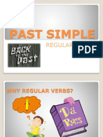 Past Simple of Regular Verbs
