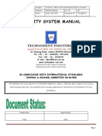Technodent Quality Manual