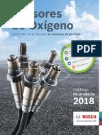 Catalogo Sensores de Oxigeno 2018