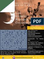 Research Colloquium Banner