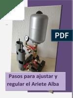 Pasos Para Ajustar y Regular El Ariete Alba