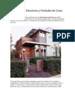 Colores Para Exteriores y Fachadas de Casas 2020 2019