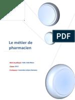 La Metier de Pharmacien
