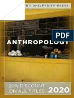 Stanford University Press | Anthropology 2020 Catalog