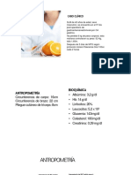 Nutricion caso clinico