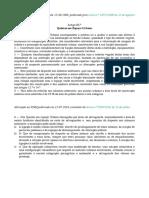 Excerto do Artigo 85º do P.D.M. de Vila Nova de Gaia - Quintas em Espaço Urbano