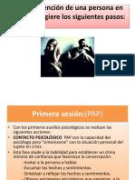 PRIMEROS AUXILIOS PSICOLÓGICOS