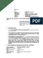 Sobreseimiento Usurpaciôn Caso 131-2014