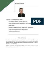 Leyhter Alexander Olarte Ortíz