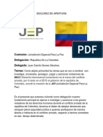 JEP COLOMBIA