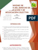 Expo Derecho Laboral Convenio 98