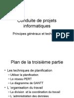 Les Techniques de Planification-Organisation Du Travail