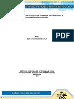Formulacion de Una Negociacion Comercial Internacional y Documentacion Requerida