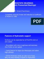 10 Hydrostatic Bearings