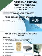 2°  TAMAÑO MAXIMO NOMINAL DE LA GRAVA (GRUPO N° 02) TRUJILLO-LUNES
