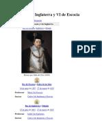 Jacobo I de Inglaterra y VI de Escocia