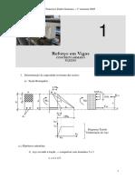 PEF 2503 - Reforço de Vigas - Flexao