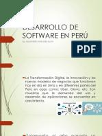SESION 1-Empresas de Desarrollo de Software en Perú