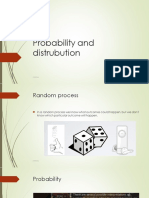 Probability and Distribution