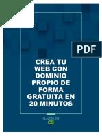 Crea Tu Web Gratis