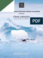 Antarctica Trip Flyer
