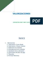 Valorizaciones Msc ing Luis Diaz H.pptx