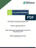 Natalia Barrera Cañaveral Act 1.4 Cuadro Comparativo Comportamiento Humano a Lo Largo Del Ciclo Vital