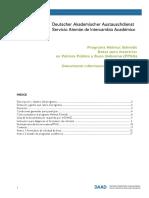 2018 Convocatoria Programa Helmut Schmidt PPGG