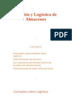 Gestión y Logística de Almacenes