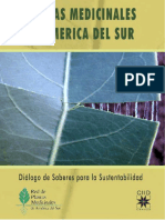 Plantas medicinales de América del Sur