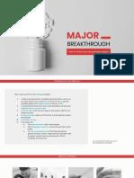 Major Breakthrough by Slidesgo