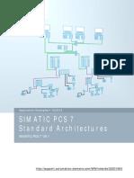 Arquitetura rede de automação industrial