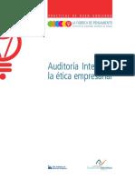 Auditoria Interna y la ética empresarial