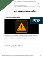 Code de La Route - Commandes Et Témoins - Les Voyants Orange (Anomalies) - En Voiture Simone