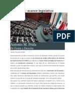 Mediación, Avance Legislativo (Prida)