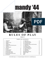 Normandy 44 RULES 2ndEdition